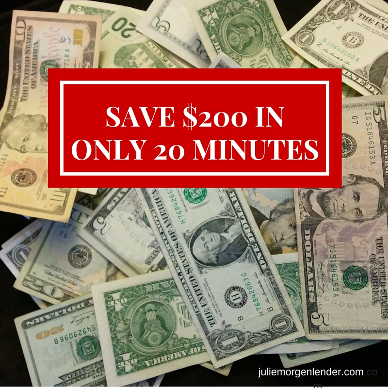 How I saved $216 in 18 minutes and you can too