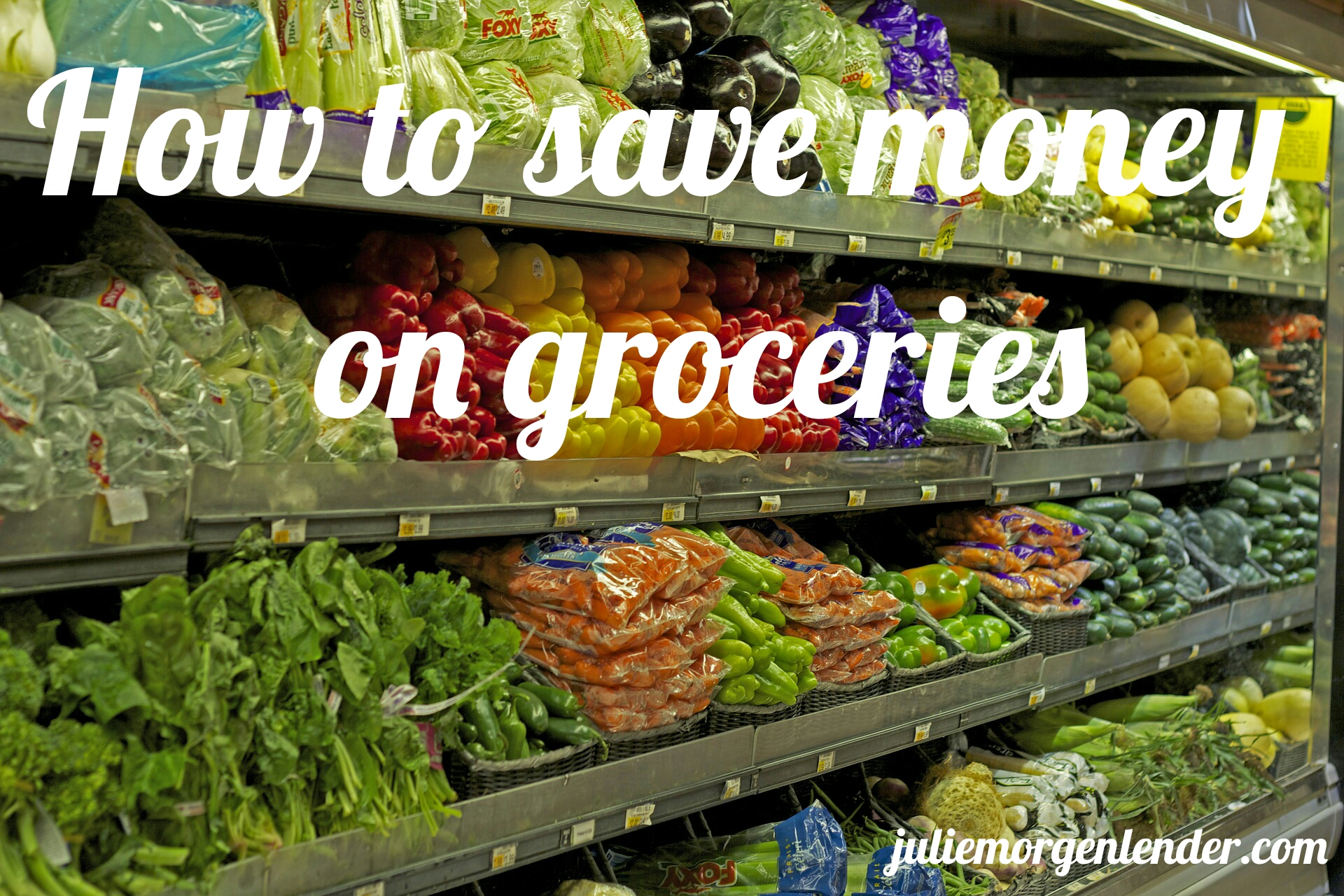 How would you spend $100 on groceries?