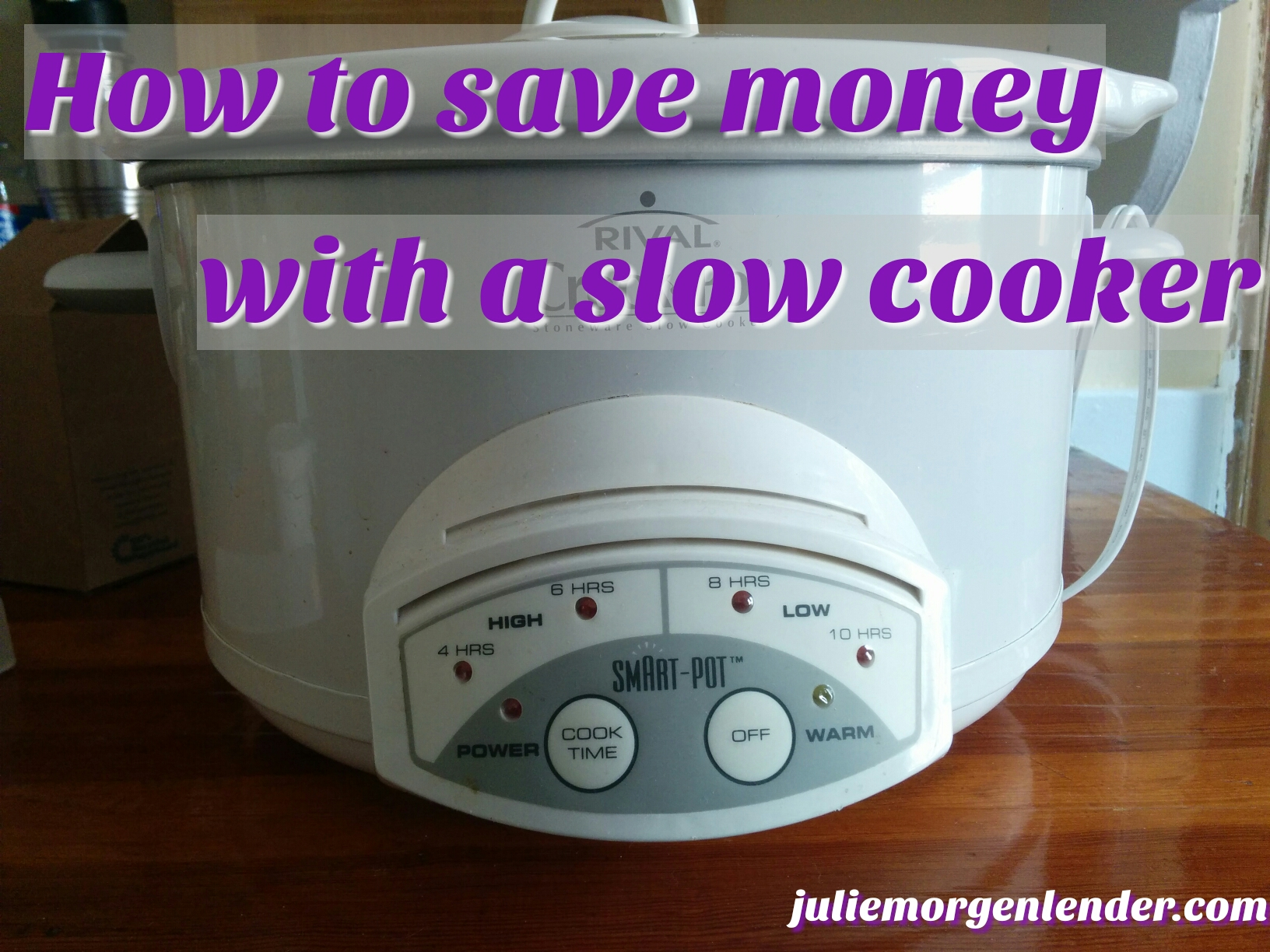 How to save money with a slow cooker