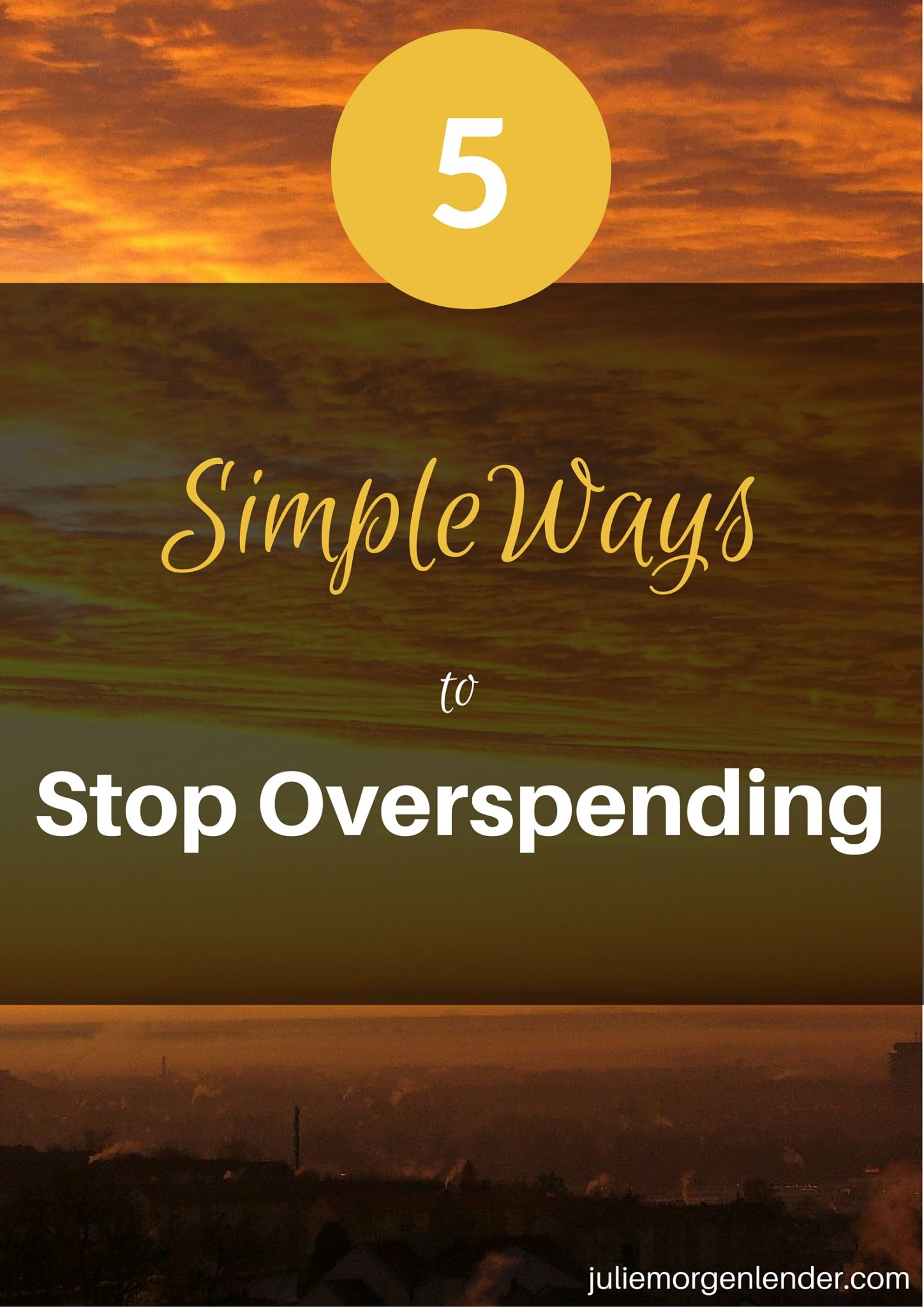5 Simple ways to stop yourself from overspending