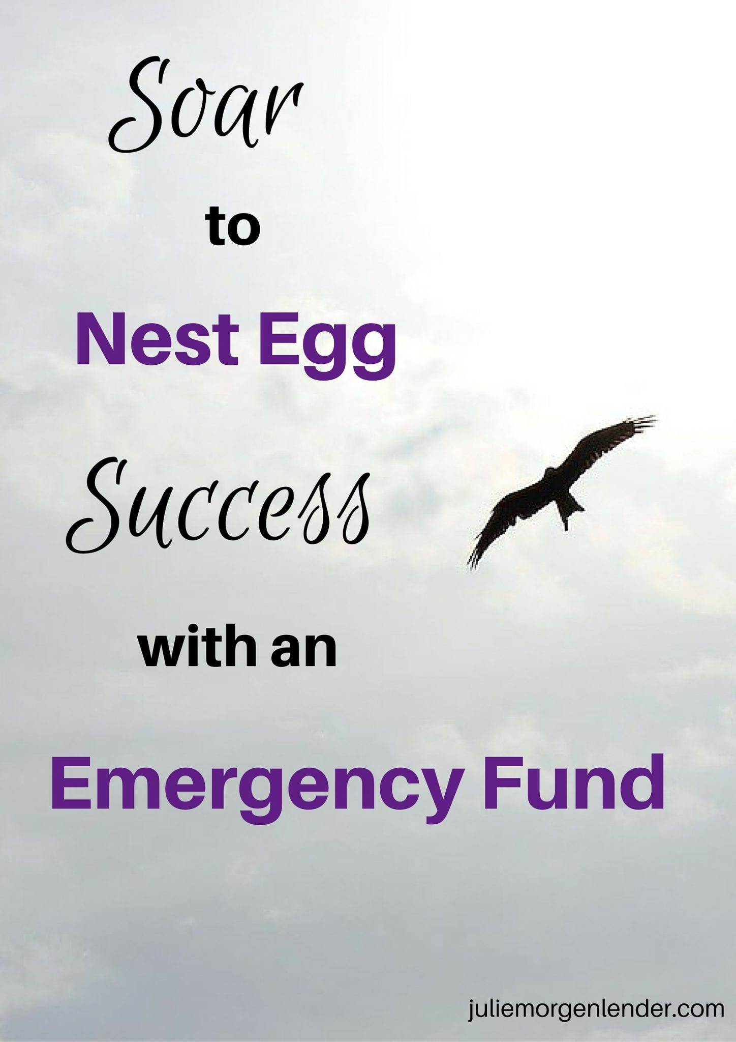 Soar to nest egg success with an emergency fund