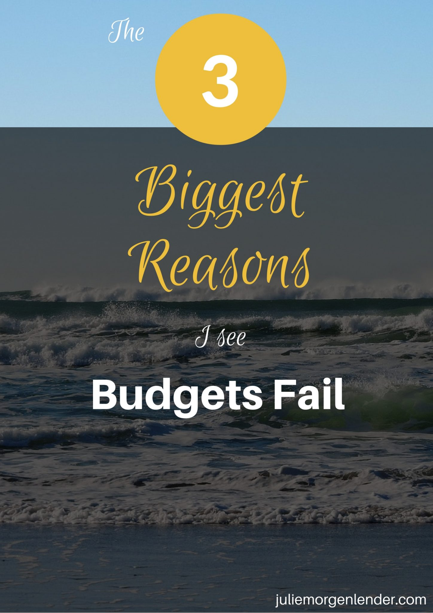 The 3 biggest reasons I see budgets fail
