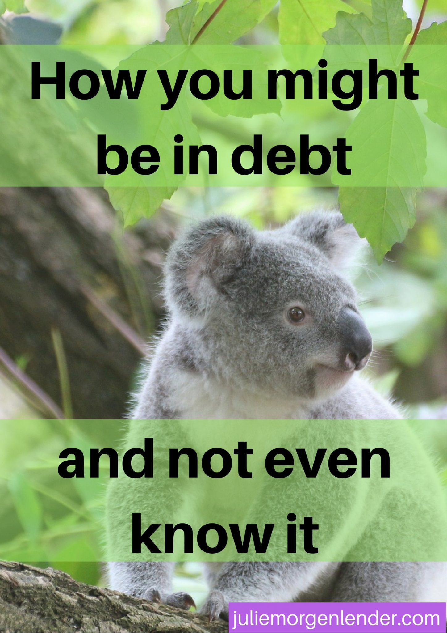 How you might be in debt and not even know it